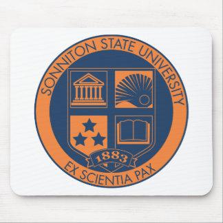 Sello de la universidad de estado de Sonniton - ma Alfombrillas De Raton