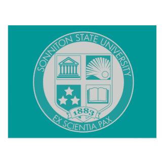 Sello de la universidad de estado de Sonniton - Tarjetas Postales