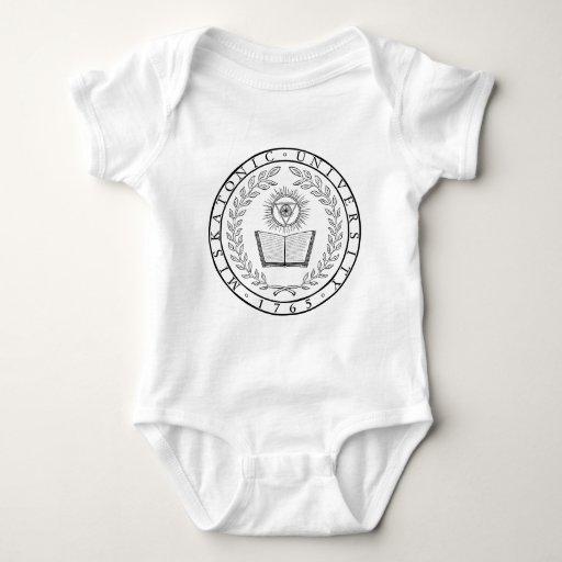 Sello de la universidad de Miskatonic Body Para Bebé