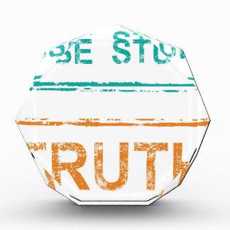 Sello de la verdad del sello del estudio de caso