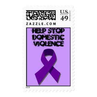 sello de la violencia en el hogar