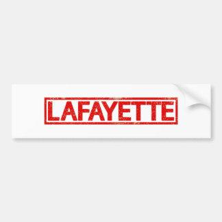 Sello de Lafayette Pegatina Para Auto