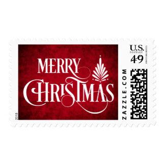 Sello de las Felices Navidad