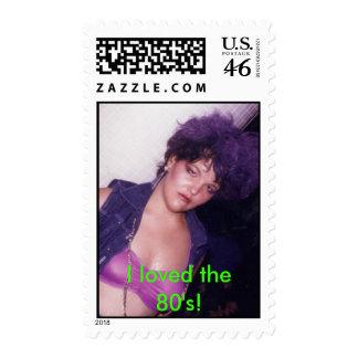 """sello de los años 80 """"amé los años 80 """""""