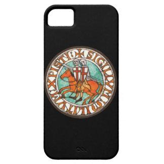 Sello de los caballeros Templar iPhone 5 Cárcasas