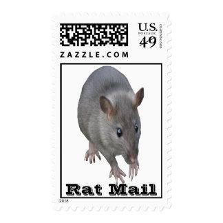 Sello de los E.E.U.U. del correo de la rata