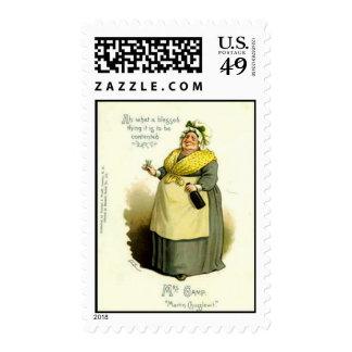 "Sello de los E.E.U.U. - señora Gamp, de ""Martin Ch"