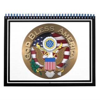 Sello de los Estados Unidos de América - dios Calendarios