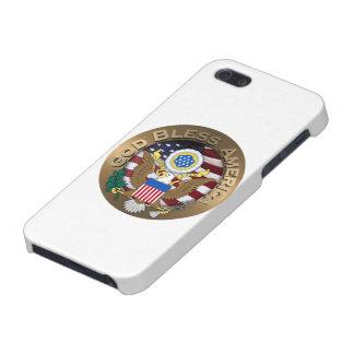 Sello de los Estados Unidos de América - dios iPhone 5 Cárcasas