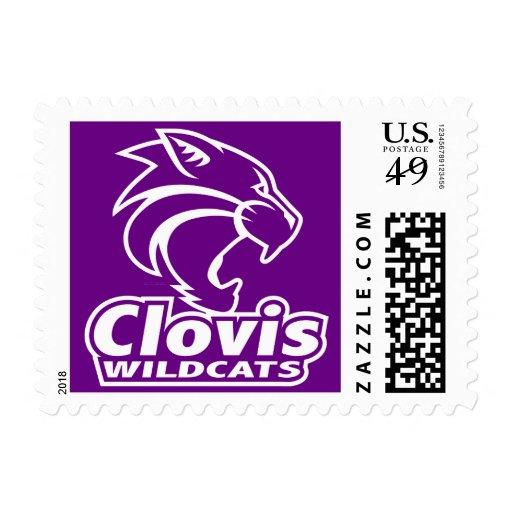 Sello de los gatos monteses de Clovis