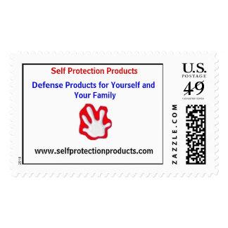 Sello de los productos de la protección de uno