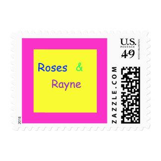 ¡Sello de los rosas y de Rayne!