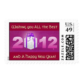 Sello de los saludos del año 2012