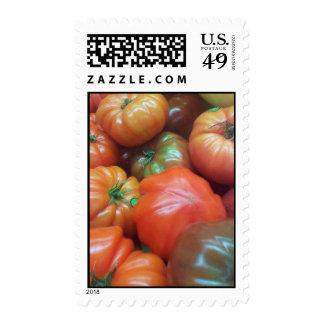 Sello de los tomates de la herencia