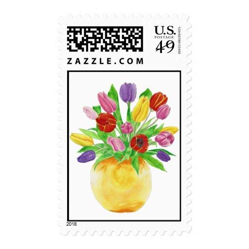 Sello de los tulipanes