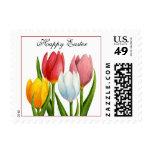 Sello de los tulipanes de Pascua