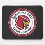 Sello de Louisville - primeras tarjetas de Tapete De Ratón