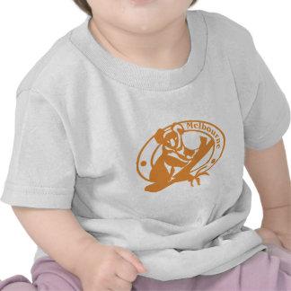 Sello de Melbourne Camisetas