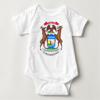 Sello de Michigan Body Para Bebé