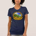 Sello de Montana Camisetas