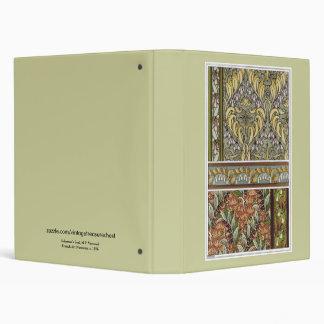 "Sello de Nouveau Solomon del arte del vintage, Carpeta 1"""