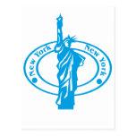 Sello de Nueva York Tarjetas Postales