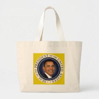 Sello de Obama Bolsa Tela Grande