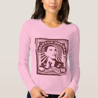 Sello de Obama (rosa) Playera