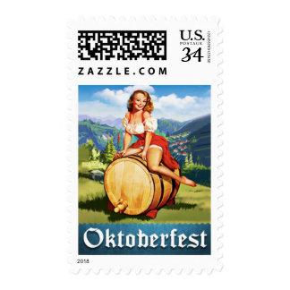 Sello de Oktoberfest del vintage
