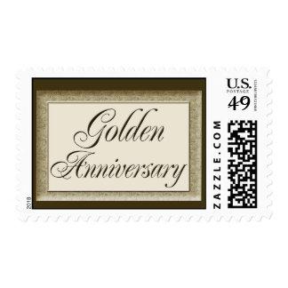 Sello de oro del aniversario