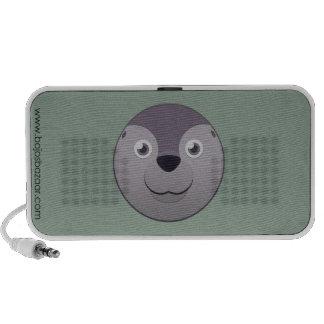 Sello de papel iPod altavoces