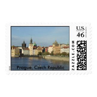 Sello de Praga del río de Moldava