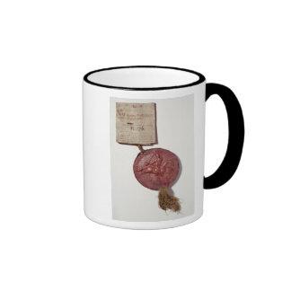 Sello de rey Richard I Tazas De Café