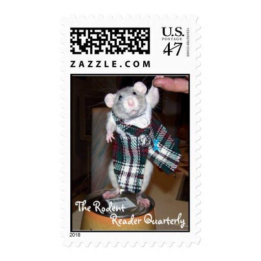 Sello de rubíes de la rata del mascota B - TRRQ
