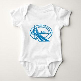 Sello de San Francisco Body Para Bebé