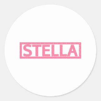 Sello de Stella Pegatinas Redondas