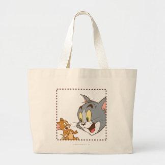 Sello de Tom y Jerry Bolsa Tela Grande