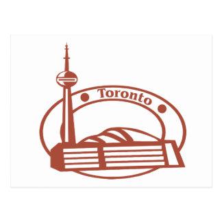 Sello de Toronto Tarjetas Postales