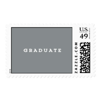 Sello de USPS del graduado de la losa
