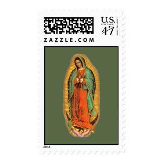 Sello de Virgen de Guadalupe del La