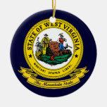 Sello de Virginia Occidental Adorno
