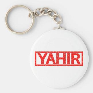 Sello de Yahir Llavero Redondo Tipo Pin