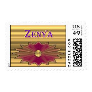 Sello de Zenya