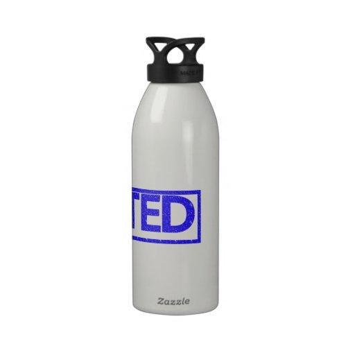 Sello Dejected Botellas De Agua Reutilizables