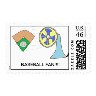 Sello del aficionado al béisbol