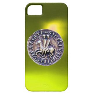 SELLO del amarillo de los CABALLEROS TEMPLAR iPhone 5 Case-Mate Cobertura
