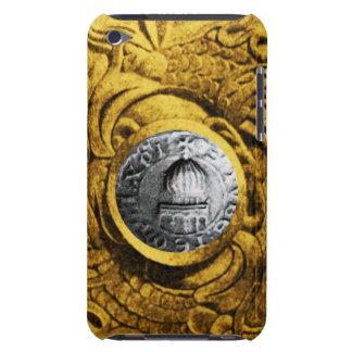 SELLO del amarillo del oro de los CABALLEROS iPod Touch Funda
