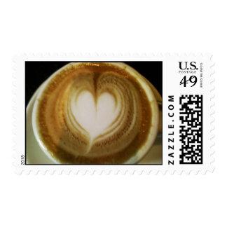 sello del amor del café