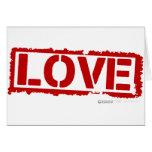 Sello del amor - FB especial del gf del cupid del  Tarjetas