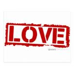 Sello del amor - FB especial del gf del cupid del  Tarjetas Postales